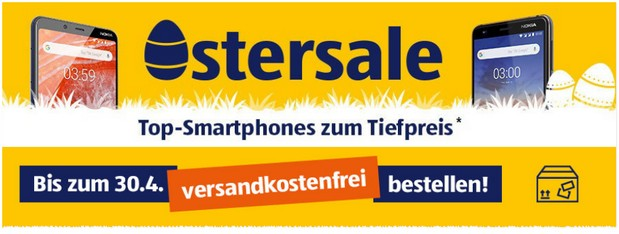 ALDI TALK Oster-Sale