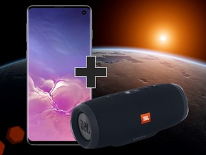 JBL Charge 3 +Samsung Galaxy S10