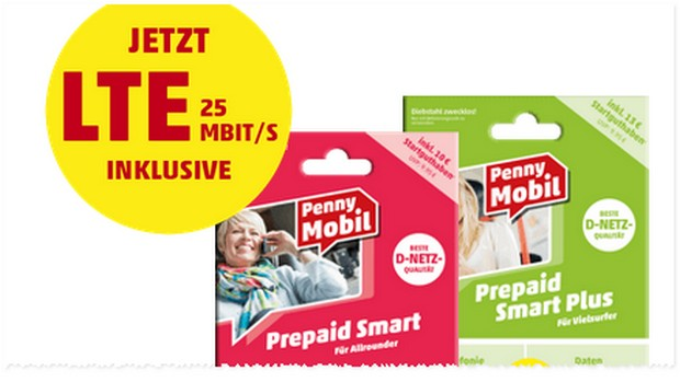 Welches Netz hat Penny Mobil?