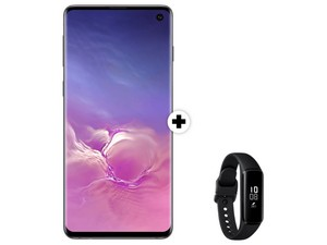 Samsung Galaxy S10 + Galaxy Fit e