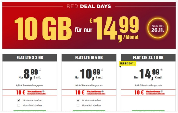 BILDconnect Red Deal Days