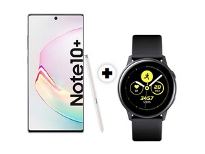Galaxy Note 10 Plus mit Galaxy Watch Active