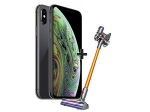 iPhone XS + Dyson V8 Absolute
