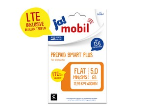 ja! mobil Prepaid Smart Plus