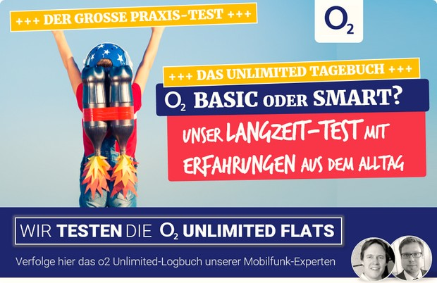 o2 Free Unlimited Test