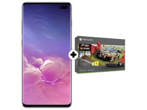 Samsung Galaxy S10 Plus mit Xbox One X im Forza Horizon 4 LEGO Speed Champion Bundle
