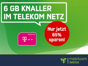 green LTE 6 GB (Telekom-Netz, SIM only)