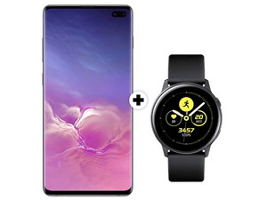 Samsung Galaxy S10 Plus mit Watch Active