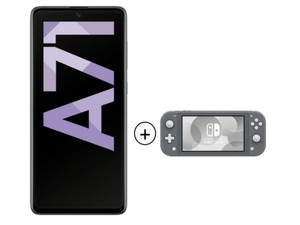 Samsung Galaxy A71 + Switch Lite