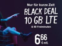 smartmobil.de Black Deal