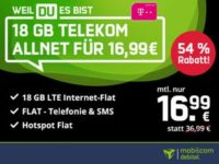 Telekom green LTE 18 GB (Black Week)