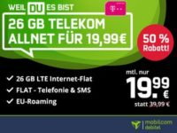 Telekom green LTE 26 GB (md) als Black Week Deal