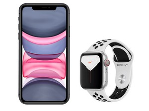 iPhone 11 + Apple Watch 5 (Nike)