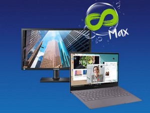 Samsung Galaxy Book S mit Monitor und o2 Free Unlimited Max