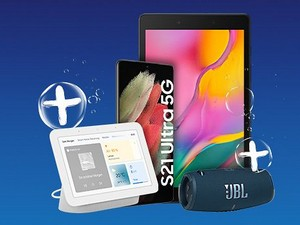 Tablet zum Samsung Galaxy S21 Ultra Handyvertrag