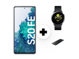 Samsung Galaxy S20 FE + Watch Active + Charger