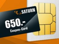 Vodafone green LTE 40 GB (md) + 650 Euro Saturn Coupon